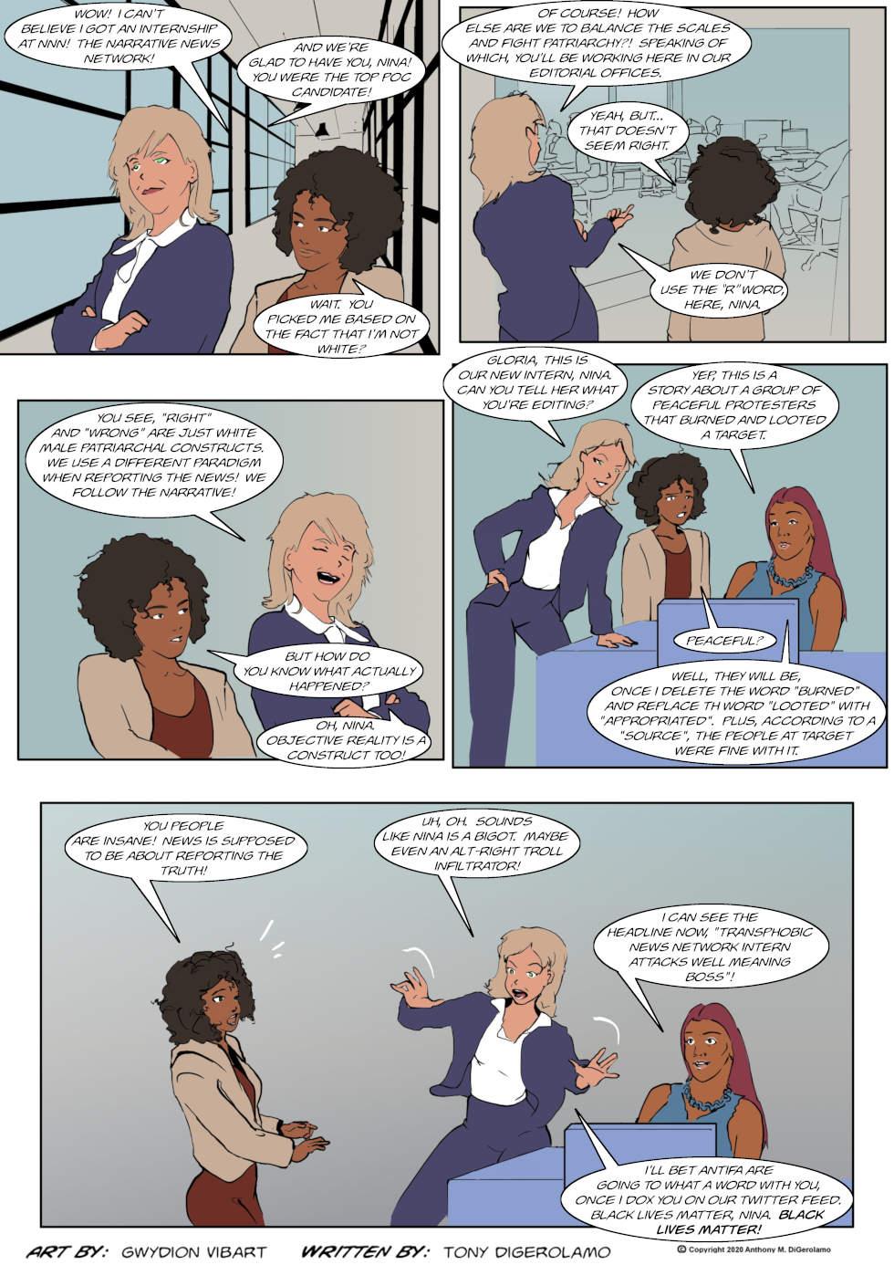 The Antiwar Comic:  The Word War