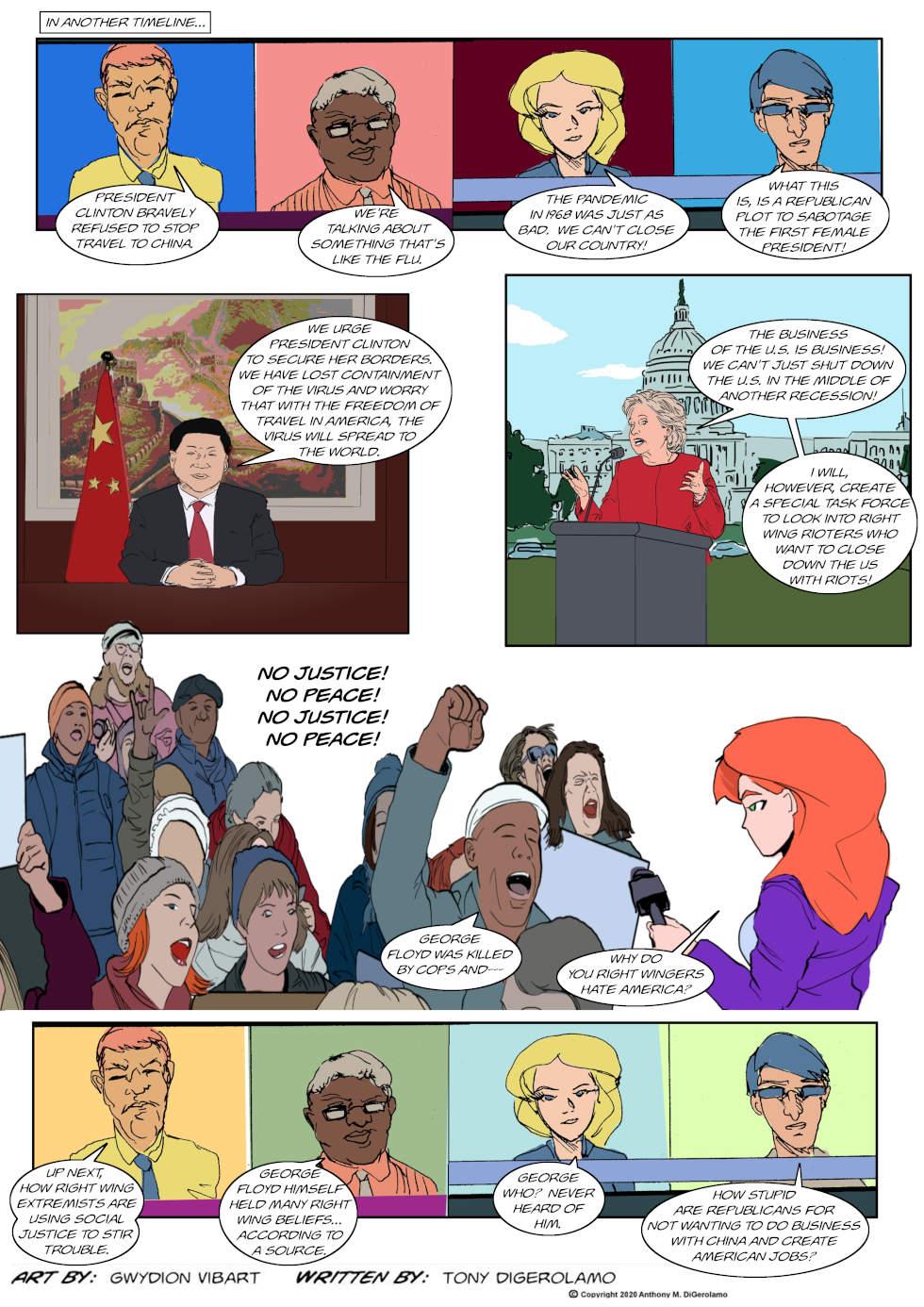 The Antiwar Comic:  Enemy