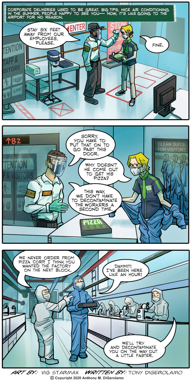 Tales of Pizza:  Corporate Pizza