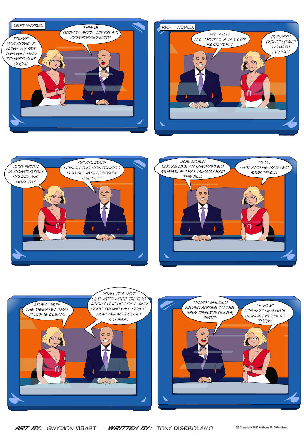 The Antiwar Comic:  The Media's Humanity