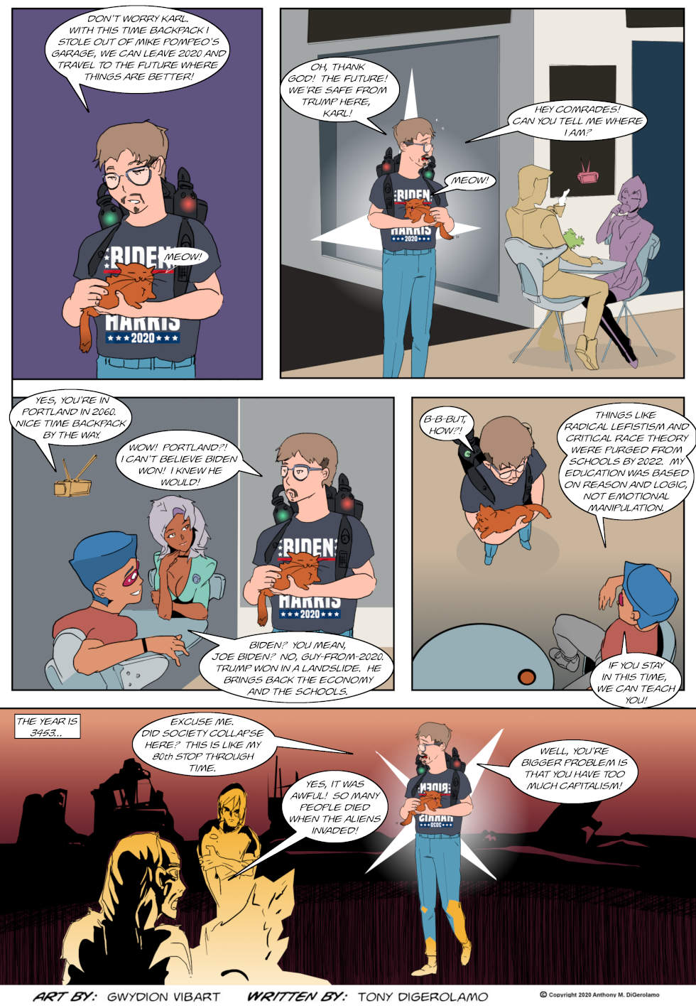 The Antiwar Comic:  A Timeless Idiocy