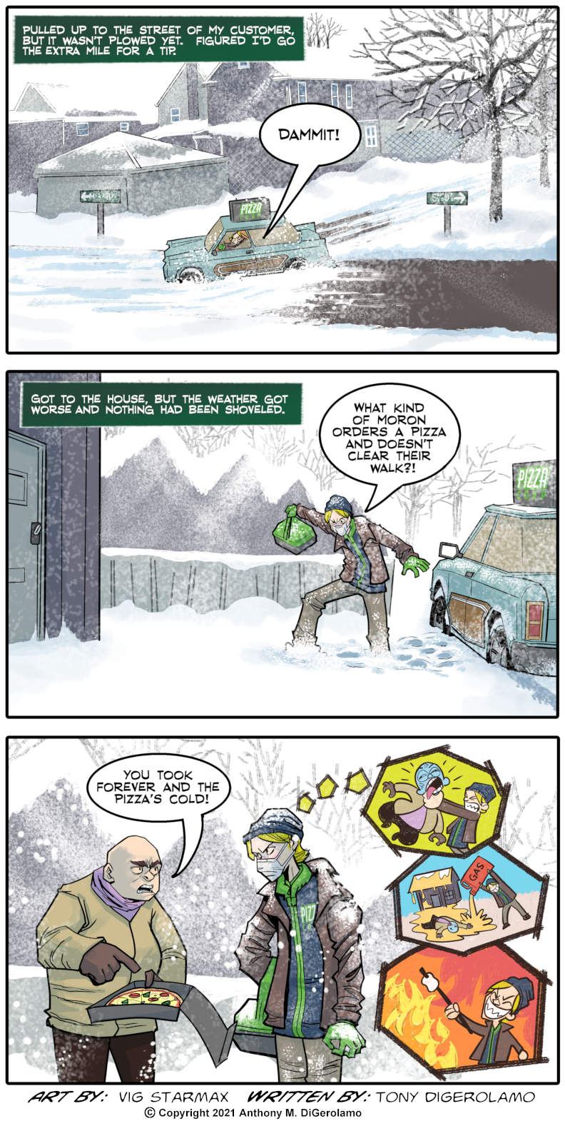 Tales of Pizza:  Cold Pizza