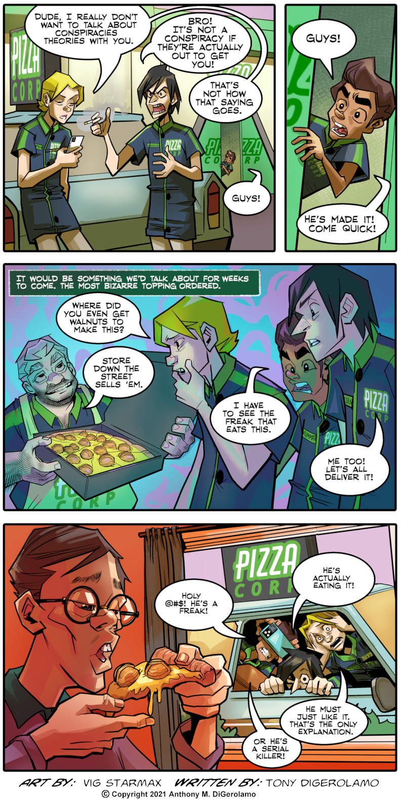 Tales of Pizza: Your Weird Topping