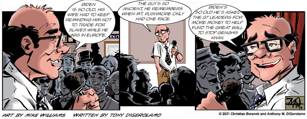 Miserable Comedians: President Mummy
