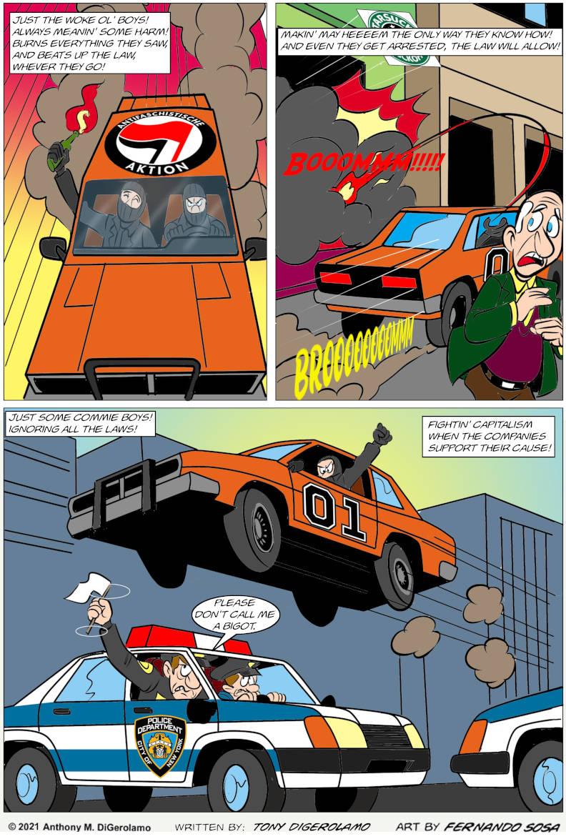 One Shot: The Dukes of Antifa