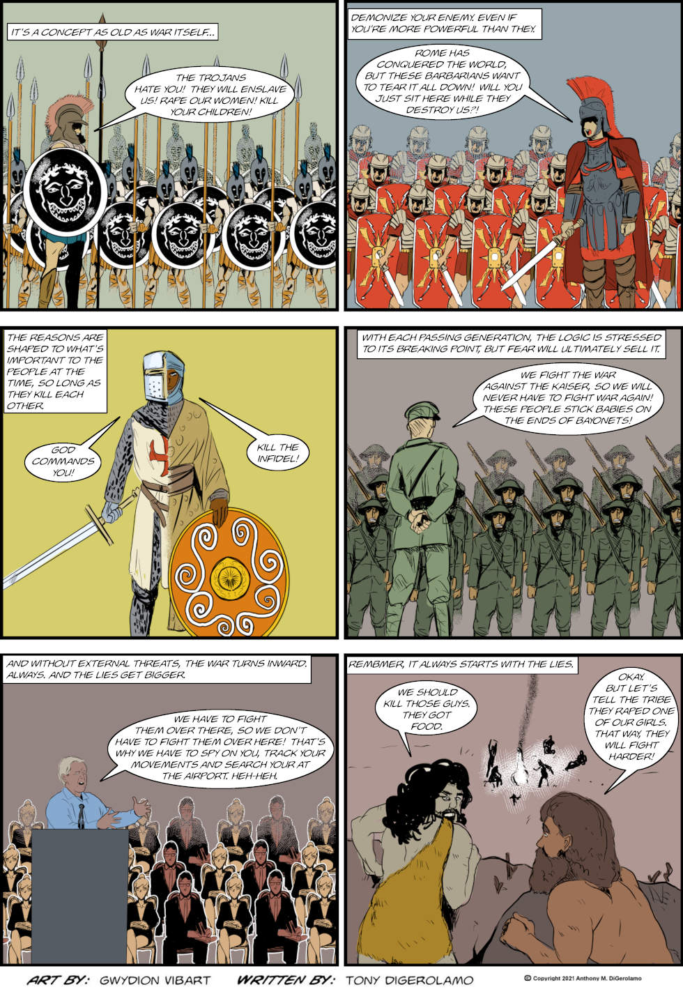 The Antiwar Comic: The Thing to Look For