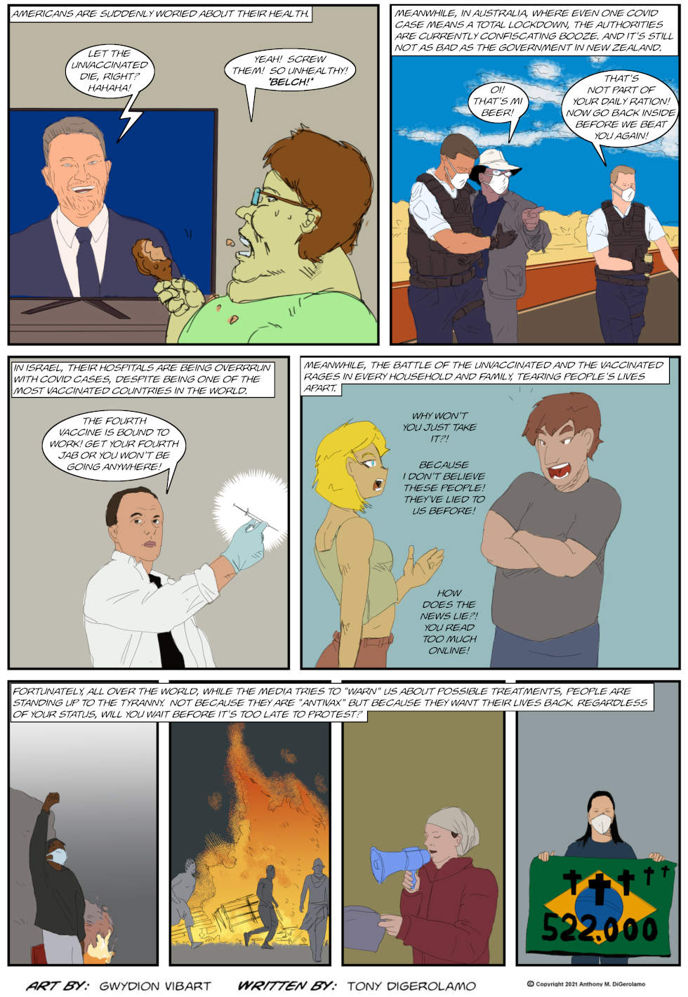 The Antiwar Comic: The War Against Protest