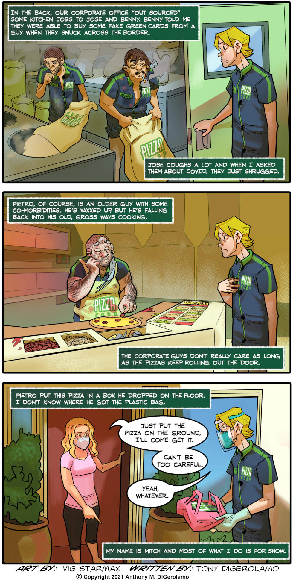 Tales of Pizza: Corporate Cleanliness