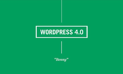 WordPress 4.0 is Announced
