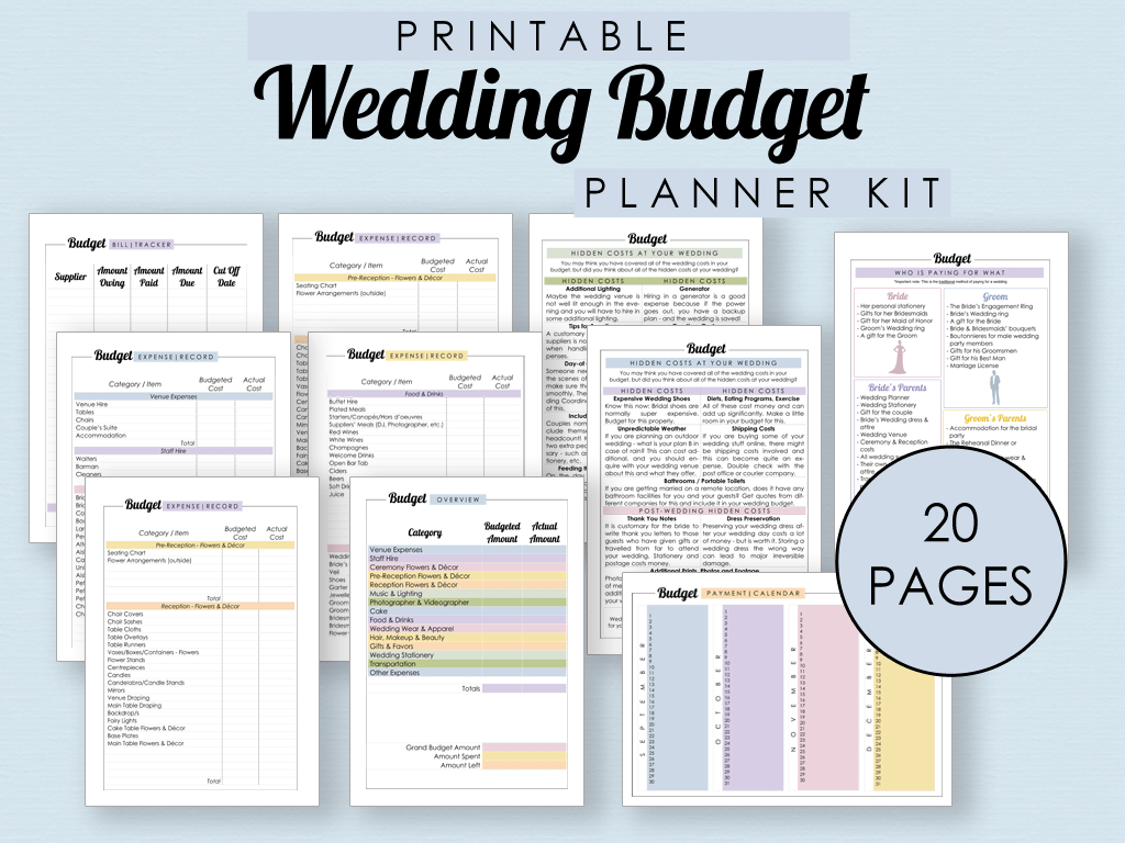 The Complete Guide To Wedding Binder Printables The Wedding Club