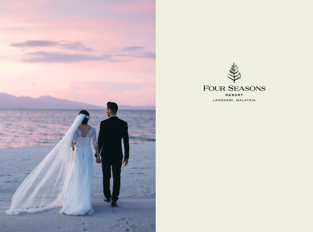 Four Seasons Resort Langkawi. Beach wedding venue in Malaysia.