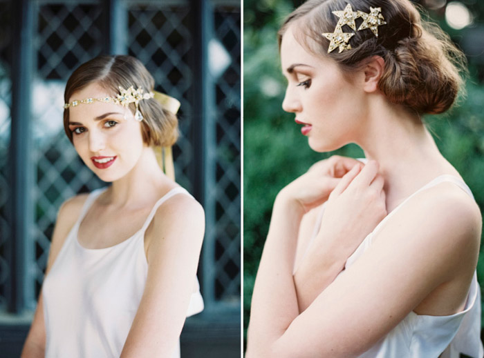 Enchanted Atelier by Liv Hart SS 2014 Collection – When Stars Collide Headband and In the Stars Comb
