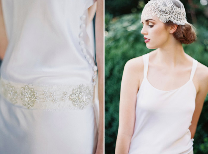 Clemence French Sash and Marielle Cap by Enchanted Atelier for Maison Sophie Hallette