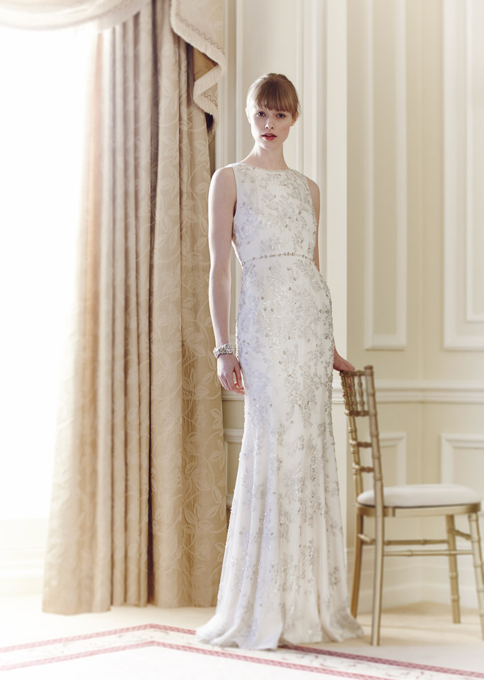Jean – Jenny Packham Spring 2014 Collection. www.theweddingnotebook.com