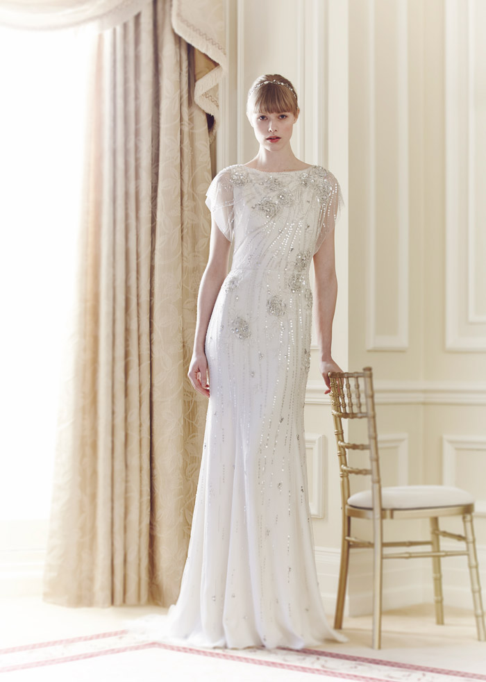 Rose – Jenny Packham Spring 2014 Collection. www.theweddingnotebook.com