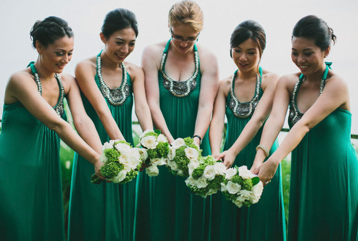 Bridesmaids' Dresses Roundup. Photo by Terralogical. www.theweddingnotebook.com