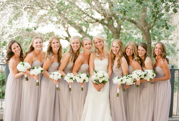 Five Different Looks For Your Bridesmaids - The Wedding Notebook ...