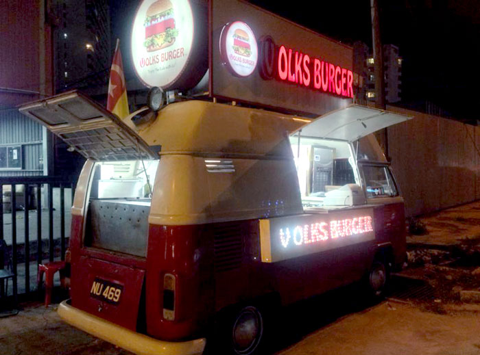 VolksBurgerKL. More Food Carts and Trucks For Weddings ideas at www.theweddingnotebook.com