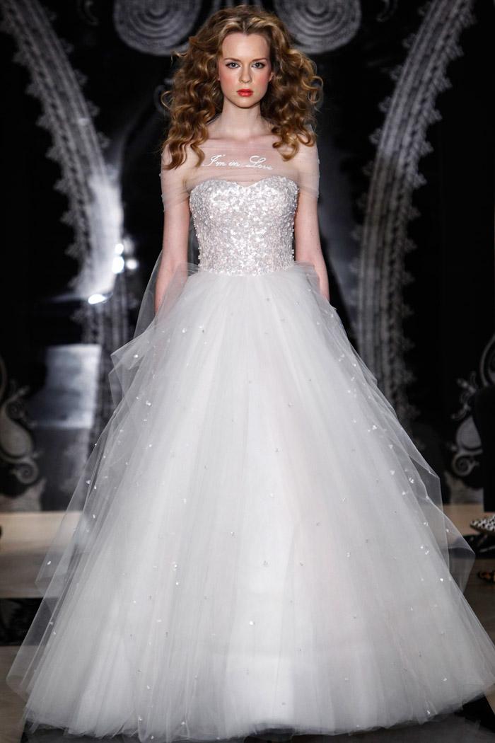 Reem Acra Spring 2014 Bridal Collection. www.theweddingnotebook.com