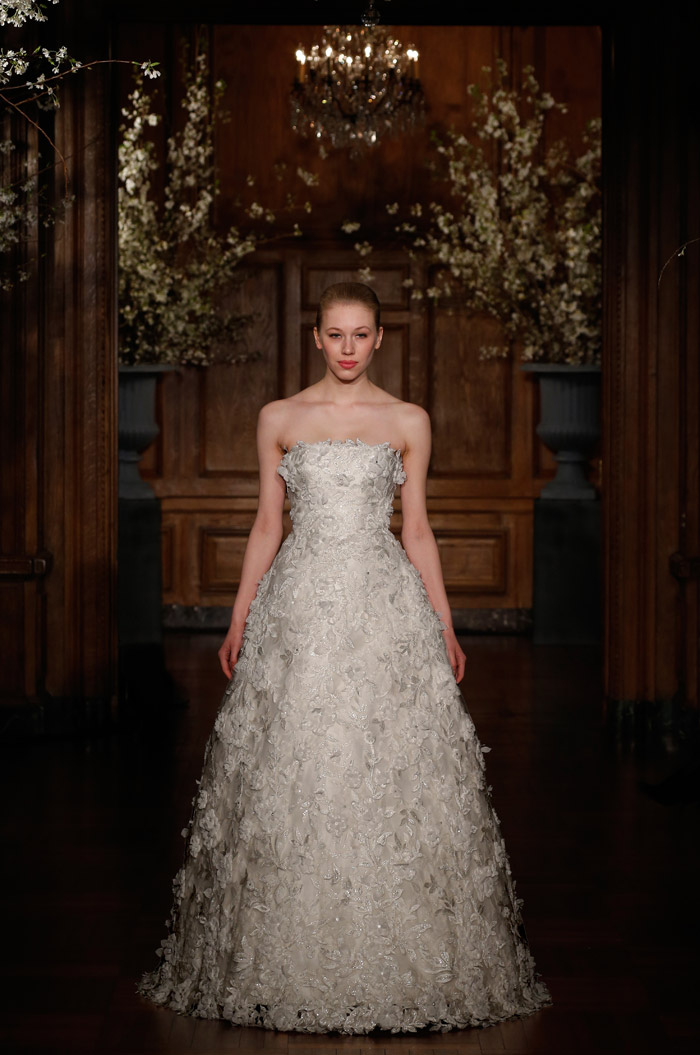 Romona Keveza Couture Spring 2014 Bridal Collection. www.theweddingnotebook.com. 1980's – The Decade of Opulence. Channelling the 'more was more' ethos of the late great couture embroiderer Francois Lesage