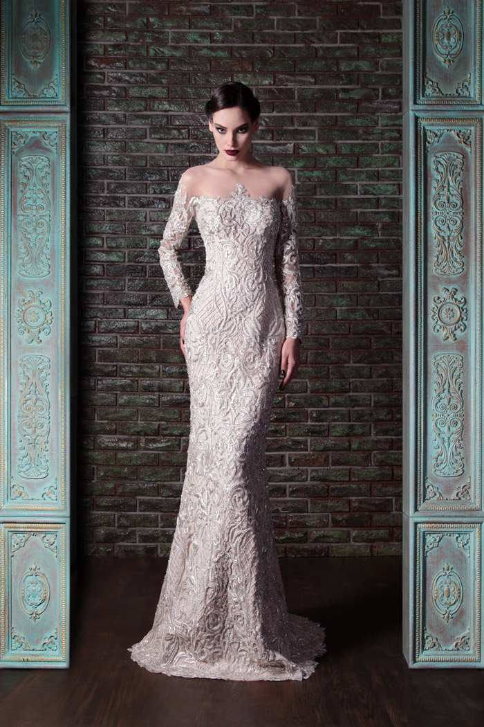 Rami Kadi Fall 2014 Collection. www.theweddingnotebook.com