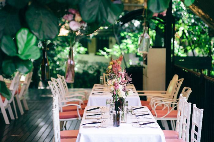 A Bohemian Wedding At Nosh. Samuel Goh Photography. www.theweddingnotebook.com