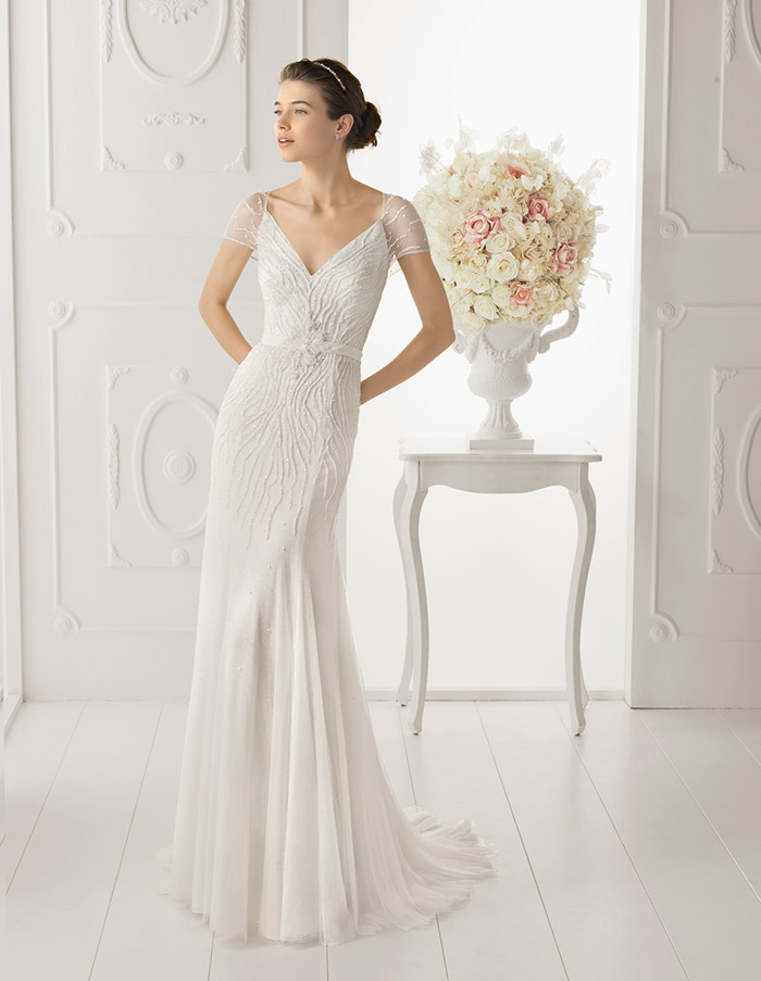Aire Barcelona 2014 Bridal Collection. www.theweddingnotebook.com