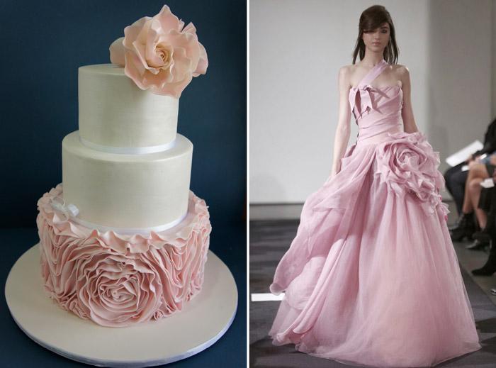 Left: Miss Shortcakes; Right: Vera Wang. www.theweddingnotebook.com