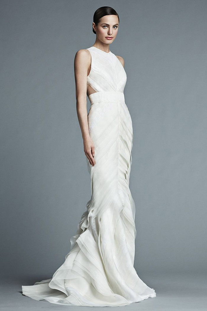 Brigitte – J. Mendel Bridal 2015 Collection. www.theweddingnotebook.com