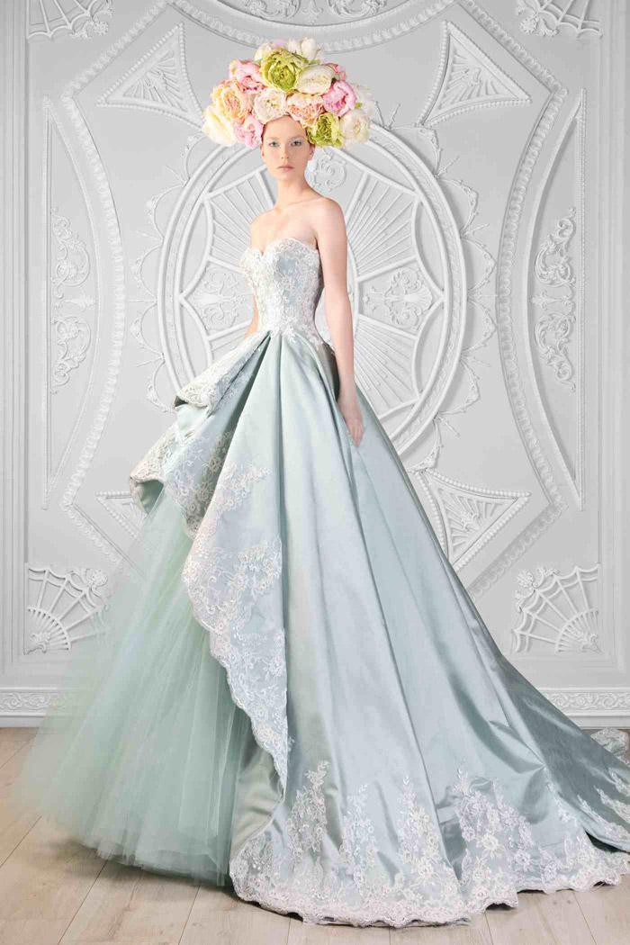 Rami Kadi 2015 Collection –Le Royaume Enchante. www.theweddingnotebook.com