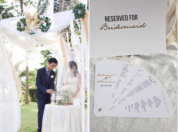 Garden wedding at Hotel Equatorial Bangi. Photo by Anna-Rina. www.theweddingnotebook.com