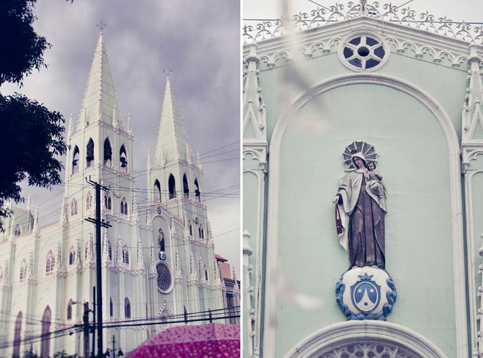 San Sebastian Church Manila, Ph. Photo by Metrophoto. www.theweddingnotebook.com