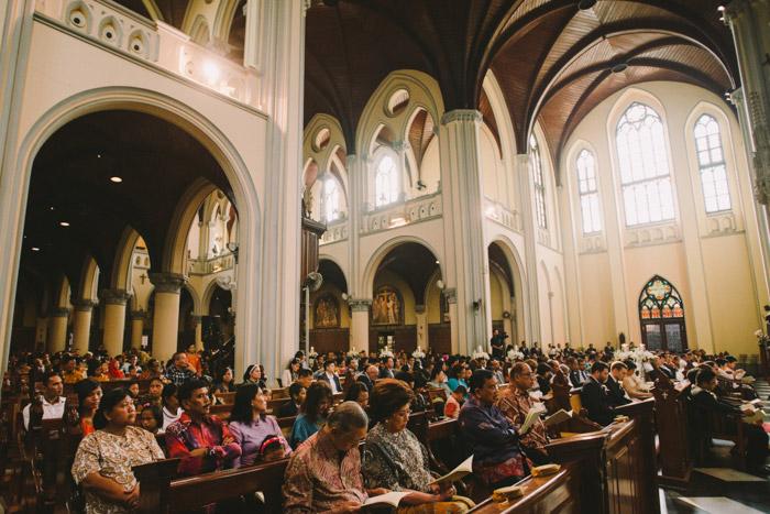 Jakarta Cathedral, Indonesia. Photo by Diktatphotography. www.theweddingnotebook.com