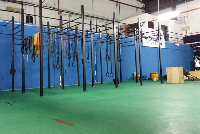 Crossfit -District13, Malaysia