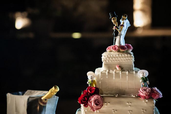 Day Of The Dead Wedding Theme. Francesco Gravina Photography. www.theweddingnotebook.com