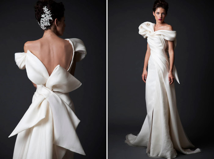 Krikor Jabotian Fall 2014 Collection. www.theweddingnotebook.com