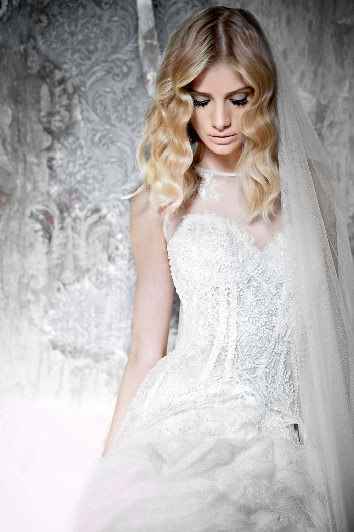Aveline –Pallas Couture 2015 Collection. www.theweddingnotebook.com