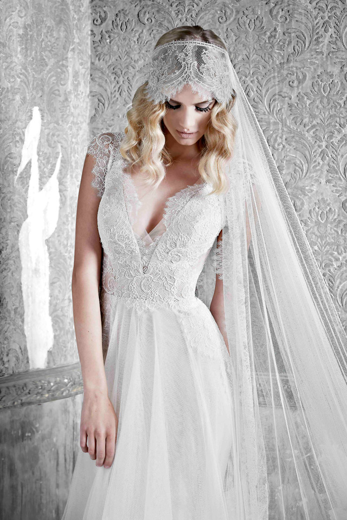 Audree –Pallas Couture 2015 Collection. www.theweddingnotebook.com