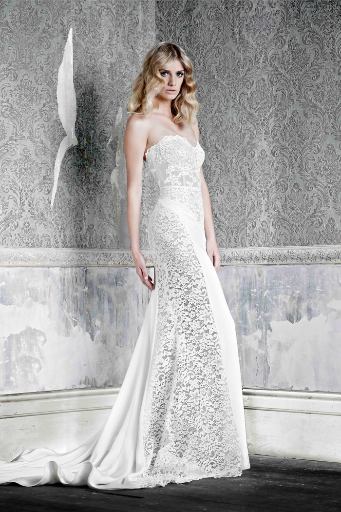 Emmie –Pallas Couture 2015 Collection. www.theweddingnotebook.com