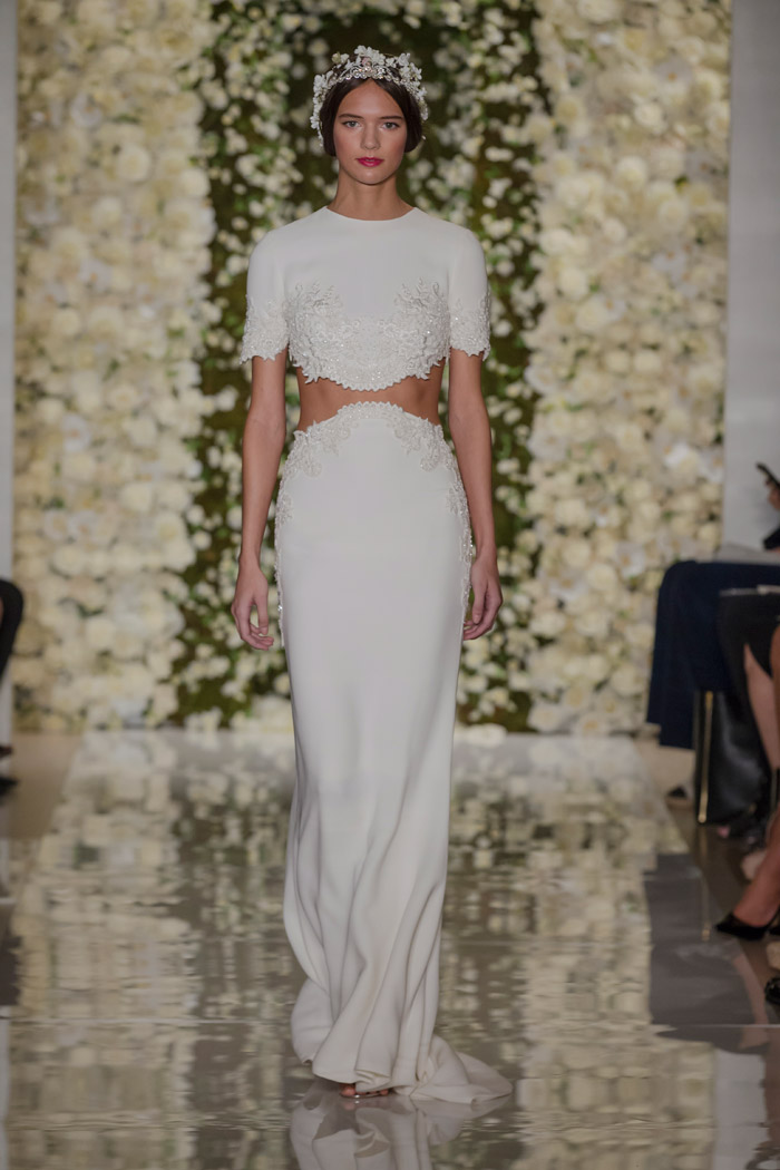 I'm Chic – Reem Acra Fall 2015 Bridal Collection. www.theweddingnotebook.com