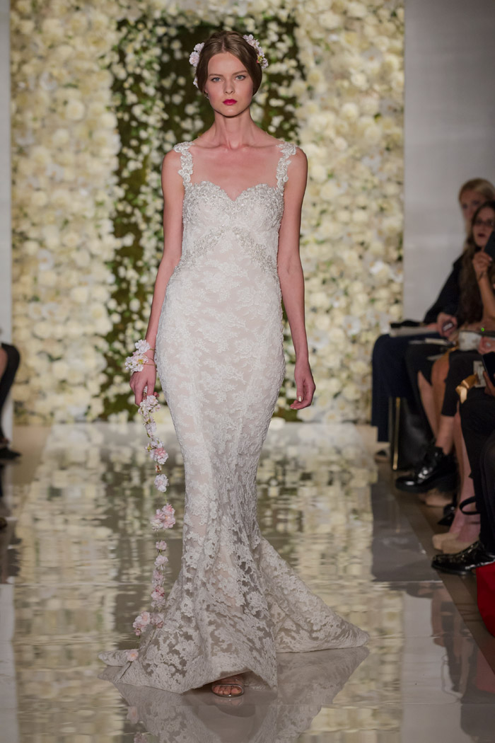 I'm Flawless – Reem Acra Fall 2015 Bridal Collection. www.theweddingnotebook.com