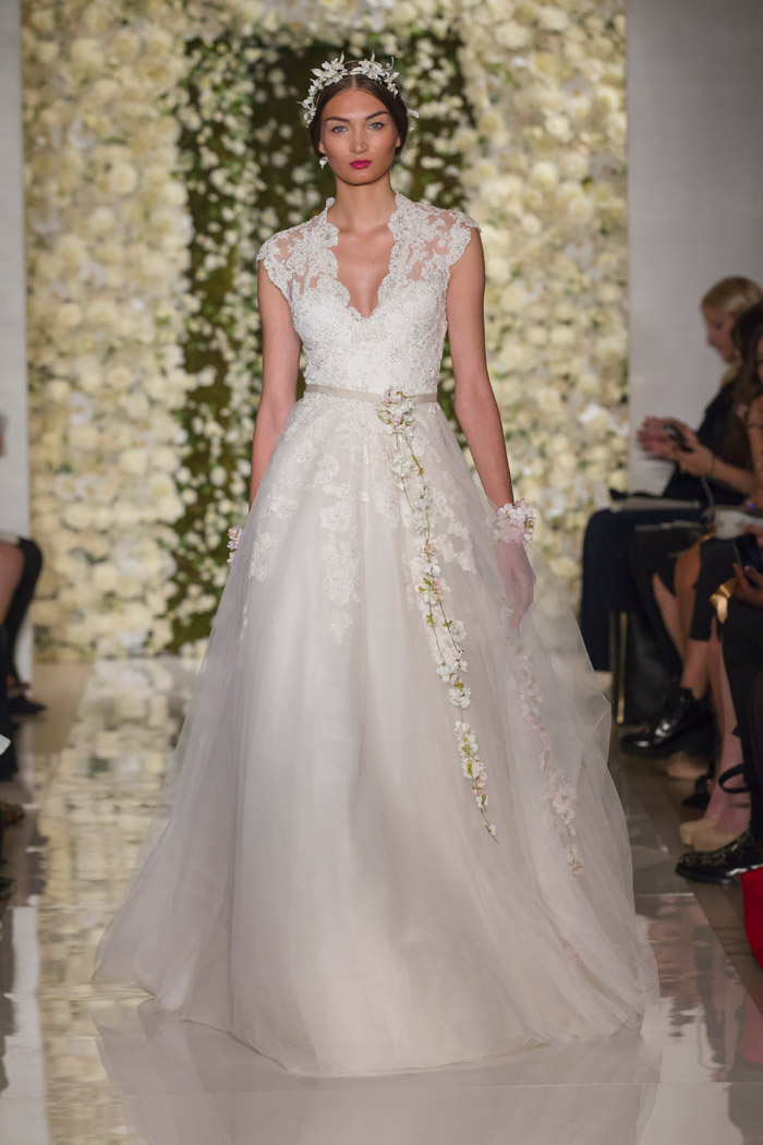 I'm Engaged – Reem Acra Fall 2015 Bridal Collection. www.theweddingnotebook.com