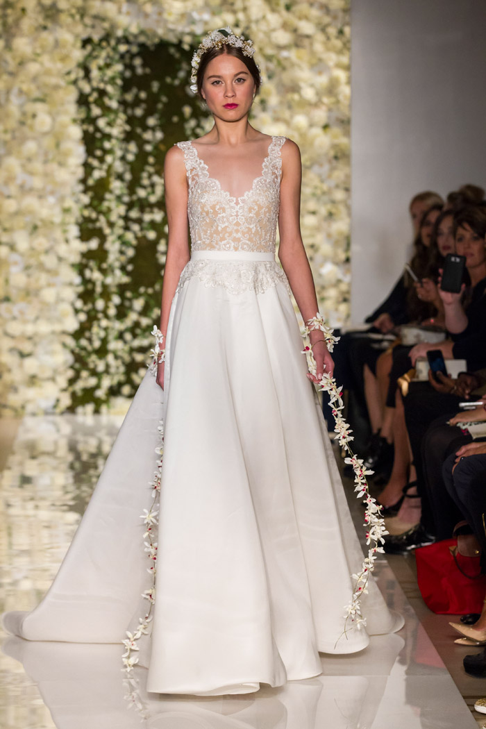 I'm On Cloud Nine – Reem Acra Fall 2015 Bridal Collection. www.theweddingnotebook.com