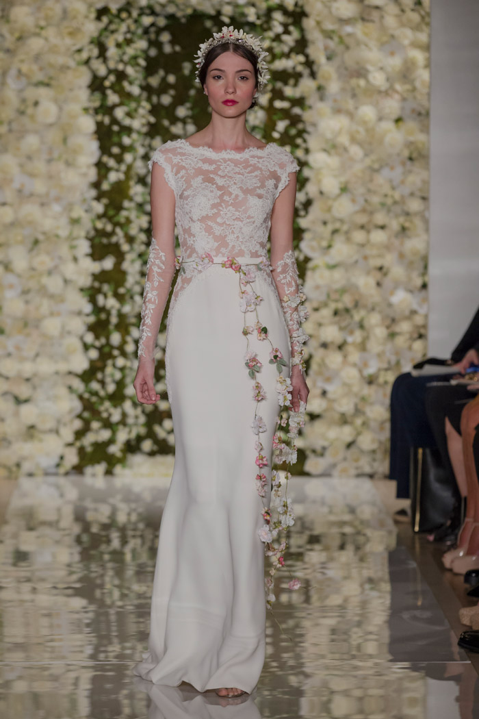 I'm Fabulous – Reem Acra Fall 2015 Bridal Collection. www.theweddingnotebook.com