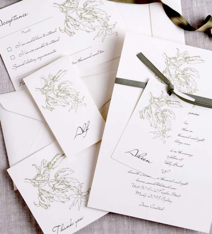 Affordable paper for your wedding invitations. www.theweddingnotebook.com