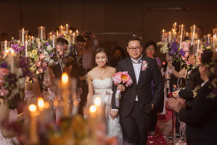 Photo by Deviews Production. Wedding at DoubleTree by Hilton Kuala Lumpur. www.theweddingnotebook.com