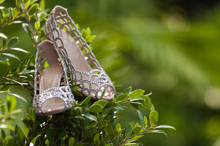 Photo by Stories by Integricity. Bridal Shoes by Sergio Rossi. www.theweddingnotebook.com