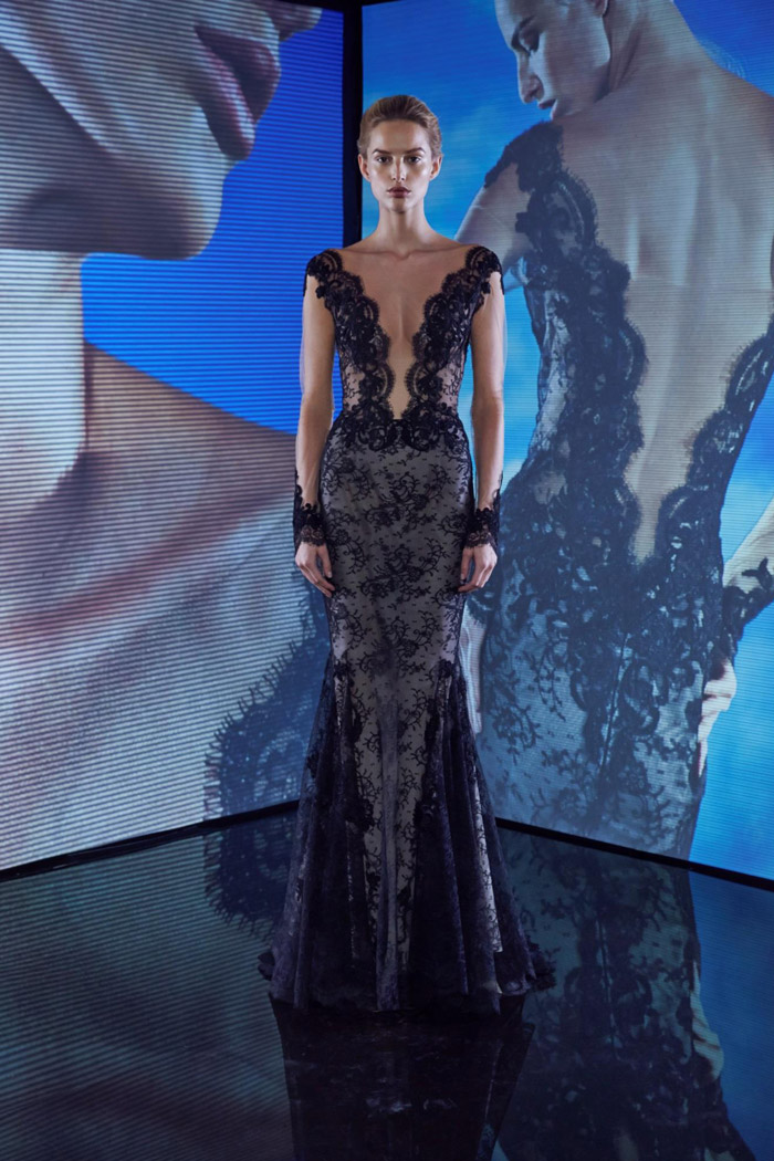 Ines Di Santo Fall 2015 Eveningwear. www.theweddingnotebook.com