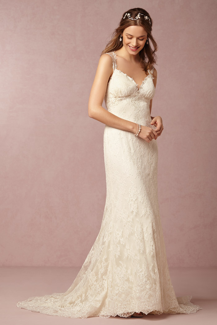 Briar Rose Gown - BHLDN Spring 2015 Bridal Collection. www.theweddingnotebook.com