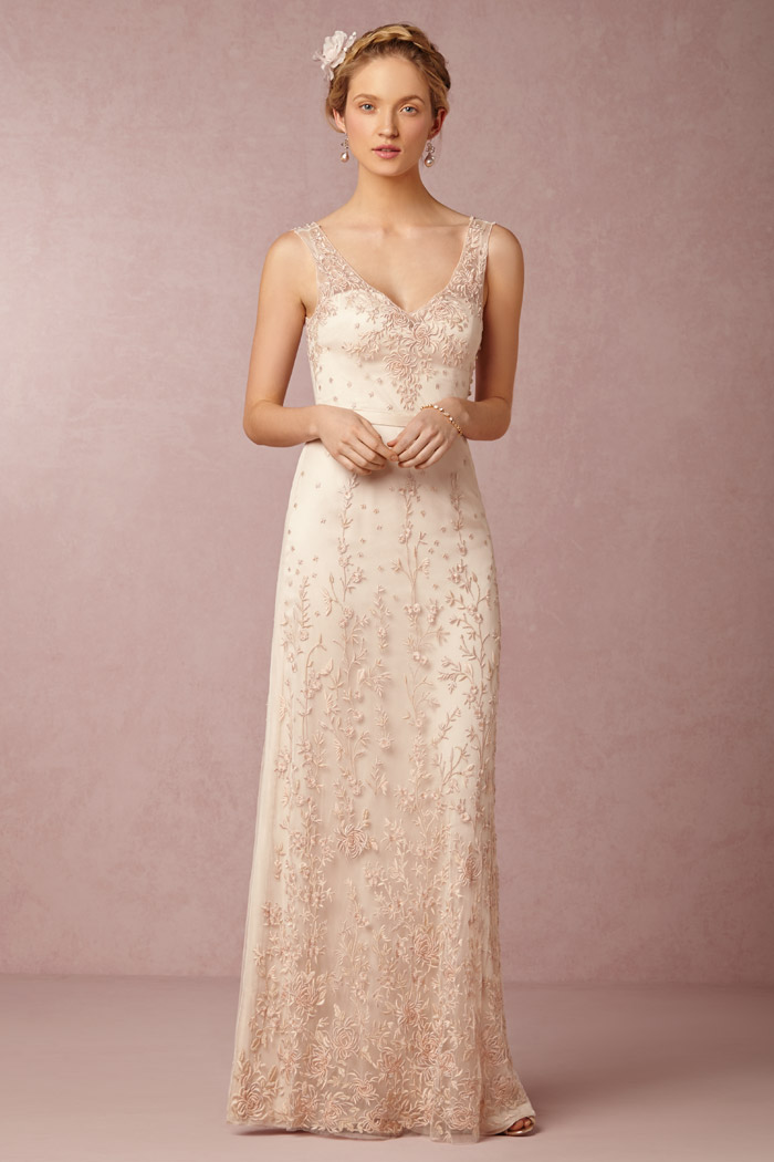 Yvie Gown - BHLDN Spring 2015 Bridal Collection. www.theweddingnotebook.com